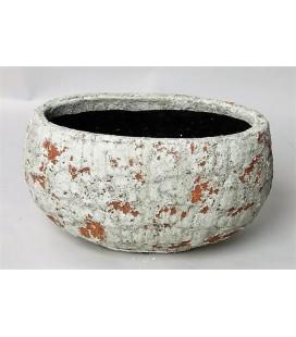 Pot Ceramique Oval 33/26H18 cm